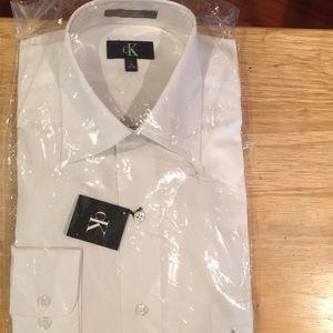 CK White Dress Shirt